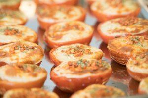 Tomates gratinados Muerde la Pasta